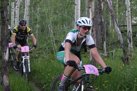"""The """"I'm racing open"""" pain face!  (Photo by Nicki Johnson / Rock On Wheels)"""