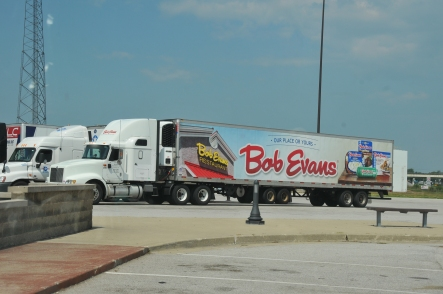 Bob Evans is the best stuff ever!!  And this truck is filled with it!