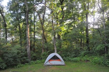Final eastbound campsite!!!