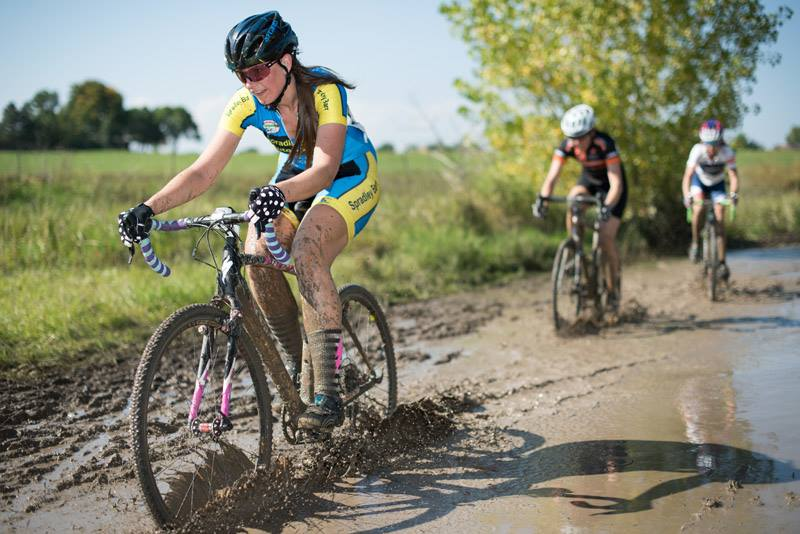 Splashing through the mud some more!  (Photo by Bo Bickerstaff)