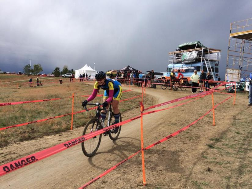 One of the fast downhill sections (Photo courtesy of Cross of the North)