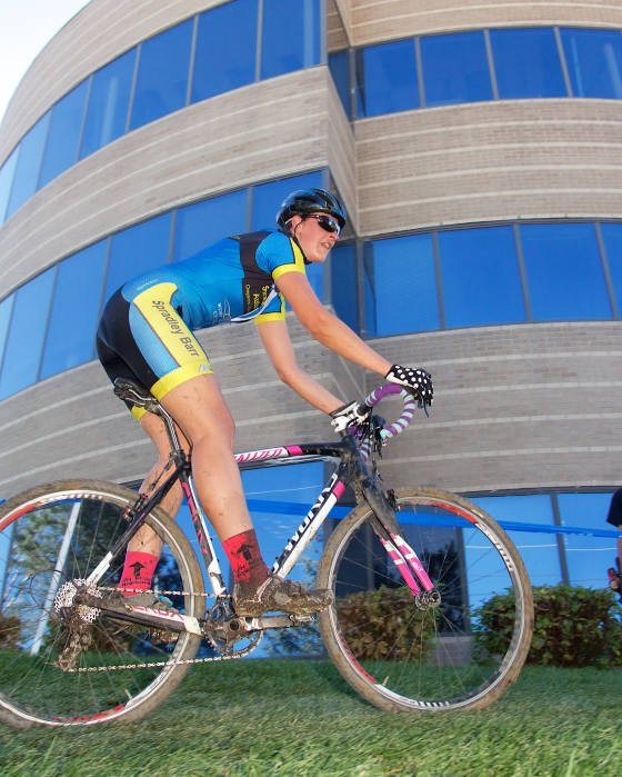 CycloX Interlocken with its swanky office buildings and manicured, evil grass (Photo by Shawn Curry)