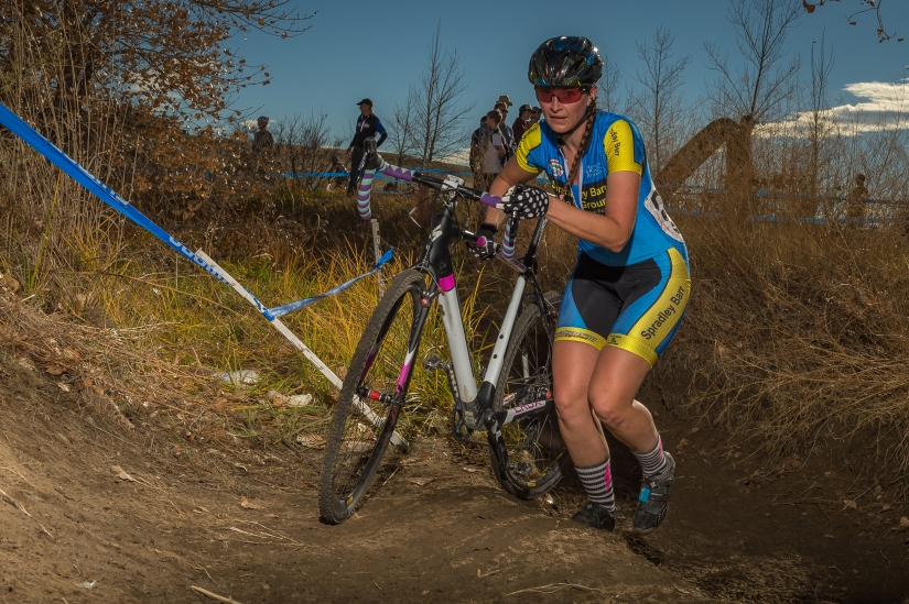 Out of the ditch at CycloX Sienna Lake (Photo: John Flora Photography)