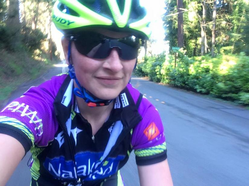 Just pedalin' along in the sunshine!