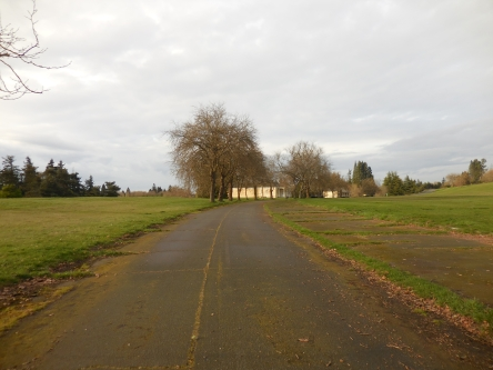 Discovery Park... pretty, but eery.  And by eery I mean creepy