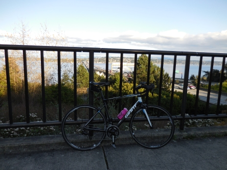 Made it across twice!  Oh, and I named this bike Bert.