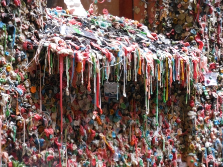 Gum Wall in Post Alley