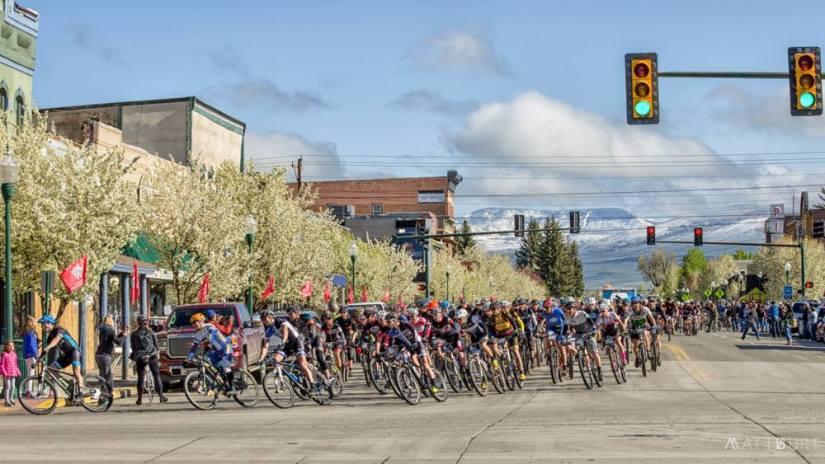 And we're off!  (Photo by Matt Burt)