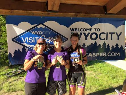 Two Moon XC Time Trial - Women's Podium at Glendo Trails Fest (Photo: Adam Leiferman)