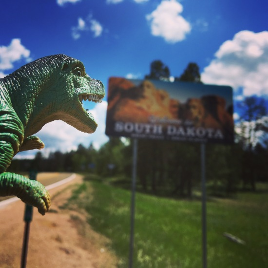 Mr. Allosaurus is taking a bite out of South Dakota